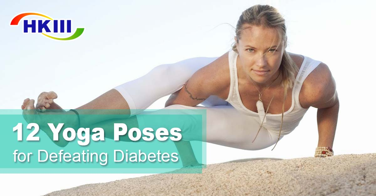 12 Yoga Poses For Defeating Diabetes