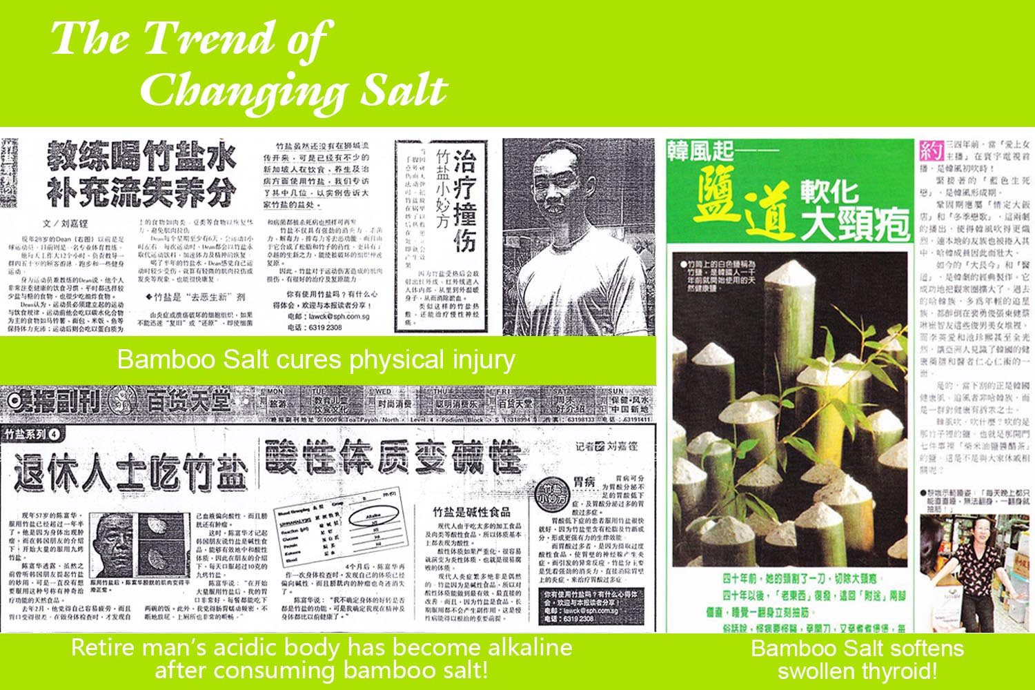 bamboo salt benefits featured on newspaper